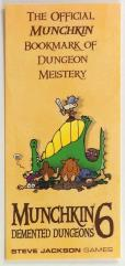 Official Munchkin Bookmark of Dungeon Meistery