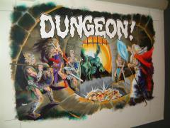 "TSR Dungeon - 15"" x 24"" Original Painting"