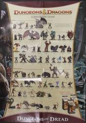 Dungeons of Dread Promo Poster w/Caves of Chaos Battlemat