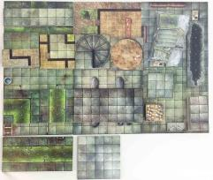 Dungeon Tiles Master Set 2-Pack - Dungeon & City!