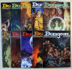 Dungeon Magazine Collection - Issues #51-60