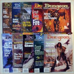 Dungeon Magazine Collection - Issues #71-80
