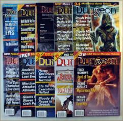 Dungeon Magazine Collection - Issues #81-90