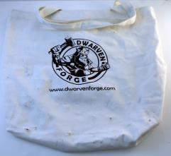 Dwarven Forge Logo Bag (Kickstarter Exclusive)
