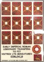 Early Imperial Roman Legionary Shields - Type #3