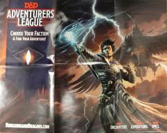 D&D Adventurer's League Promo Poster - Elemental Evil