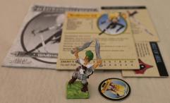 Warrior Pack - Elf Wardancer w/Painted Figure #1