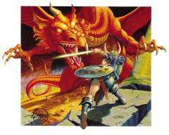 Basic Dungeons & Dragons - Ancient Red Dragon