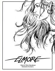 Elmore Black & White Sketchbook (Kickstarter Exclusive)