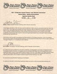 El Raja Key's Arcane Treasury & Demonic and Arcane (Lettered Author Copy)