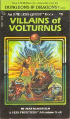 Star Frontiers - Villains of Volturnus