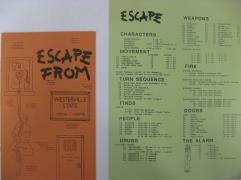 Escape From Westerville State Prison (1st Printing)