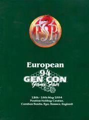 1994 European Gen Con Program