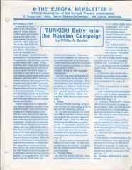 "#2 ""Turkish Entry into the Russian Campaign"""