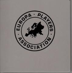 Europa Players Association Binder