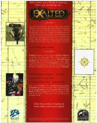 Exalted 2nd Edition Promo Booklet