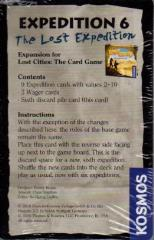 Lost Cities Card Game - Expedition 6, The Lost Expedition Promo Expansion