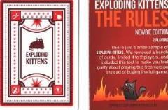 Exploding Kittens Promo