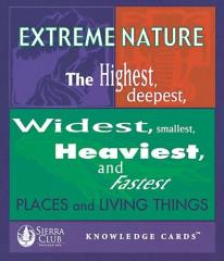 Knowledge Cards - Extreme Nature