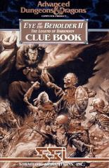 Eye of the Beholder II - Clue Book