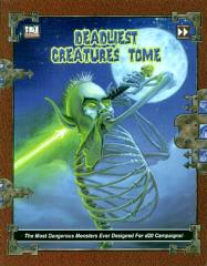 Deadliest Creatures Tome