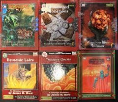 Fast Forward Entertainment D20 Sourcebook Collection - 6 Books!