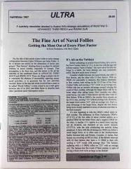 "#21 - Fall-Winter 1997 ""Naval Follies, Tide of War"""