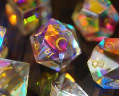 Fantastic Glass - Moon w/Gold (7)