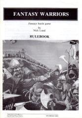 Fantasy Warriors - Rulebook