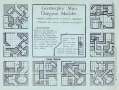 Geomorphic Mini Dungeon Modules