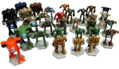 Battletech Plastic Miniatures Collection #1 - 21 Figures