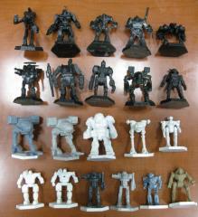 Battletech Plastic Miniatures Collection #2 - 21 Figures