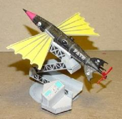 Fate Aerial Torpedo - Victorian Science Fiction Cruise Missile