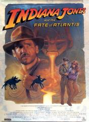 Indiana Jones and the Fate of Atlantis Promo Poster