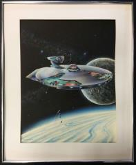 Federation Ship Recognition Manual (2nd Edition) Original Cover Art