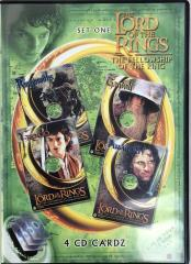 Fellowship of the Ring, The - Set #1 (DVD Case Edition)