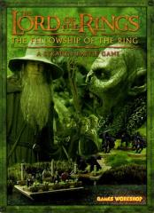 Fellowship of the Ring Boxed Game Rulebook (Green Cover)