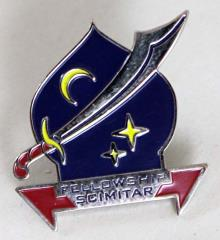 Fellowship Pin - Scimitar