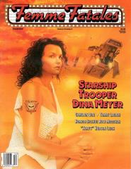 "Vol. 6, #6 ""Starship Trooper Dina Meyer"""