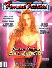 "Vol. 7, #1 ""Heather Graham - Lost in Space Cadet"""