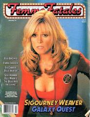"""Vol. 8, #10 """"Sigourney Weaver - Galaxy Quest"""""""