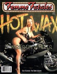 """Vol. 8, #17 """"Hot Wax - Zombies on Wheels"""""""