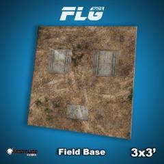 3' x 3' - Field Base