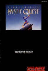 Final Fantasy - Mystic Quest Instruction Manual