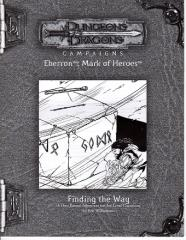 Mark of Heroes RPGA - Finding the Way
