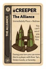 Firefly Fluxx Promo Card - The Alliance