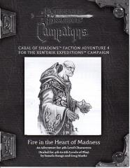 Cabal of Shadows RPGA Faction Adventure #4 - Fire in the Heart of Madness