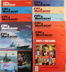 Fire & Movement Collection - Issues #61-70!