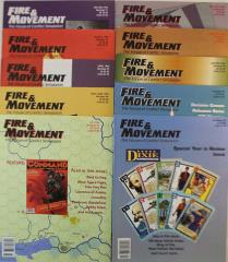 Fire & Movement Collection - Issues #71-80!