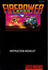 Firepower - 2000 Instruction Manual